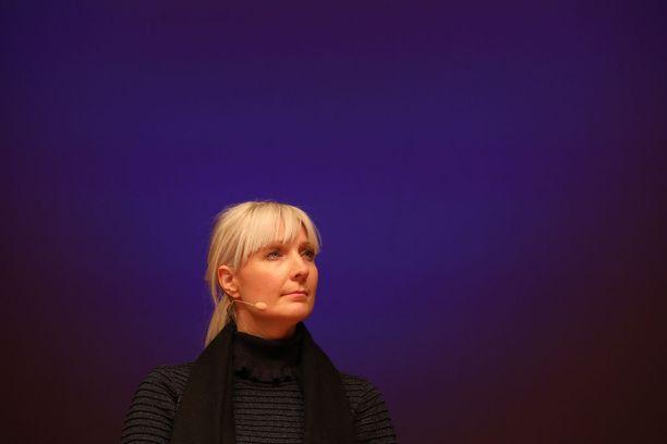 Laura Huhtasaari kritisoi keskiviikkona Ylen ja Kalevan tentissä rikospykälää, joka koskee kansanryhmää vastaan kiihottamista.