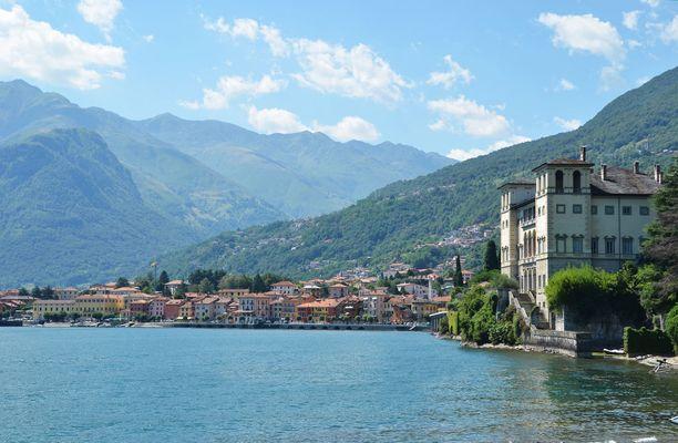 Comojärvi on julkkisten suosima kohde Italiassa.