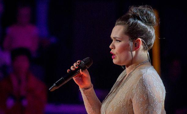Saija Saarnisto voitti The Voice of Finlandin.
