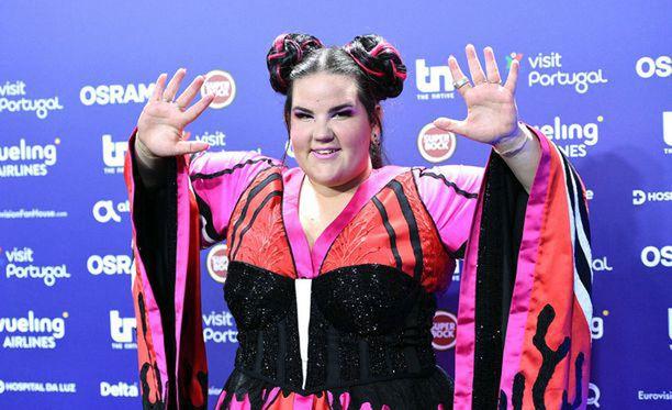 Netta voitti Israelin edustajana keväällä Euroviisut.
