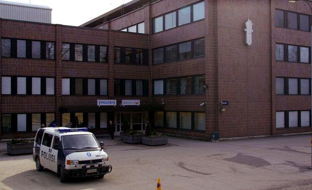 Lahden poliisitalo on rakennettu 1970-luvulla.