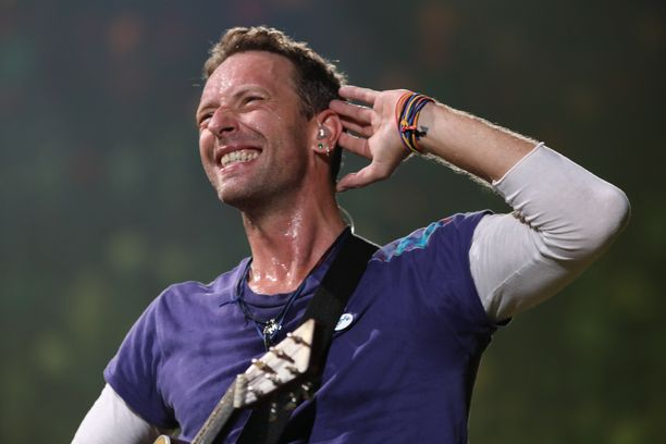 Laulaja Chris Martin on Coldplay-yhtyeen nokkamies.
