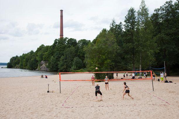 Pyynikin rannalta ei ole pitkä matka Tampereen keskustaan.