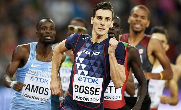 Pierre-Ambroise Bosse juoksi maailmanmestariksi 800 metrillä Lontoossa viime kesänä.