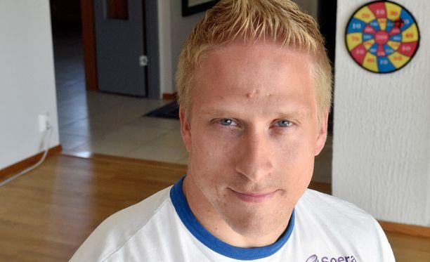 Leo-Pekka Tähti on iskussa.