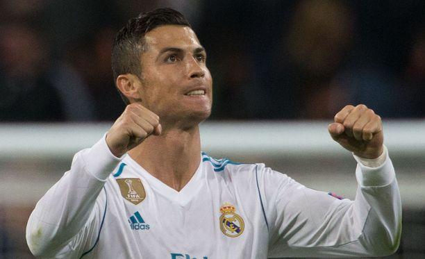 Cristiano Ronaldo valittiin Fifan vuoden pelaajaksi.