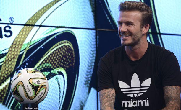 David Beckhamin lapsetkin uskovat Argentiinan voittoon.