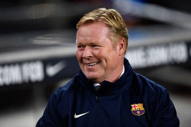 Barcelonan päävalmentajan tehtävät vaativat lujaa paineensietokykyä.