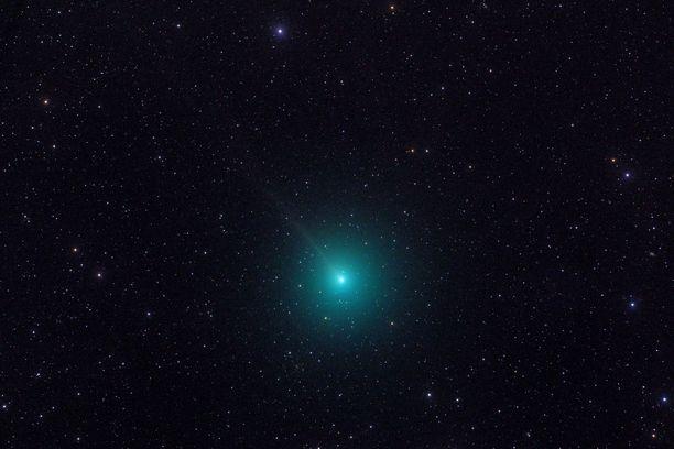Pyrstötähti 46P/Wirtanen näkyy Suomen taivaalla joulun alla. Pyrstöä on kuitenkin vaikea havaita paljain silmin.