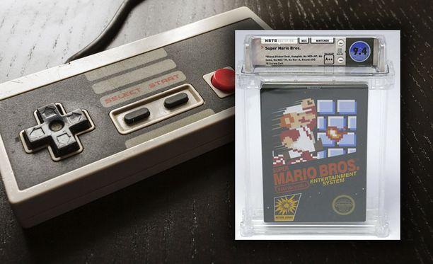 Super Mario on yksi tunnetuimmista peleistä maailmassa.