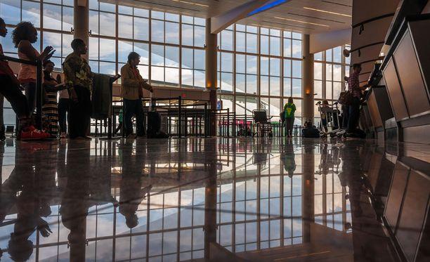 Atlantan lentokenttä on tärkeä liikenteen solmukohta.