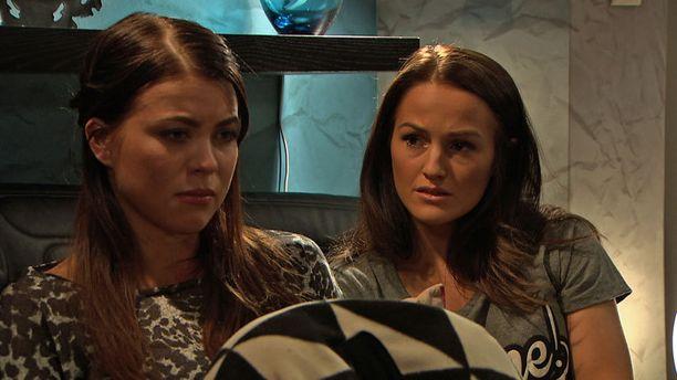 Oona Kareesta (Marianna) ja Venla Savikujasta (Heidi) tuli vangitsija ja vangittu.