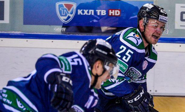Vitali Sitnikov (25) loukkaantui sunnuntain ottelussa.