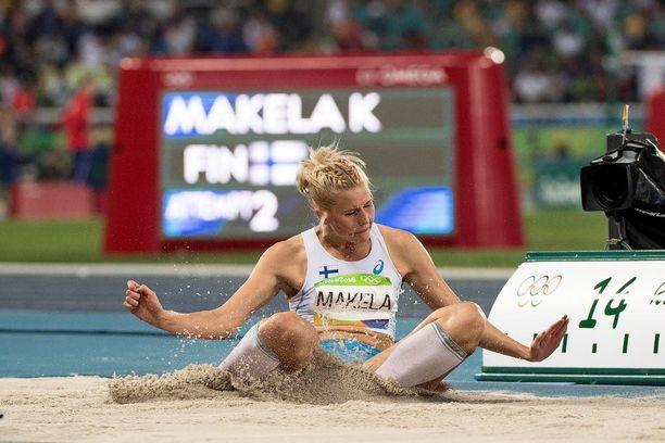 Kolmiloikkaaja Kristiina Mäkelä kuului Suomen onnistujiin. Hän teki karsinnassa uuden ennätyksensä ja pääsi mukaan finaaliin.
