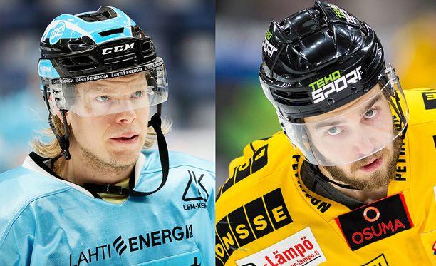 Vili Sopanen ja Matias Myttynen saivat KHL-pestit Kiinasta.