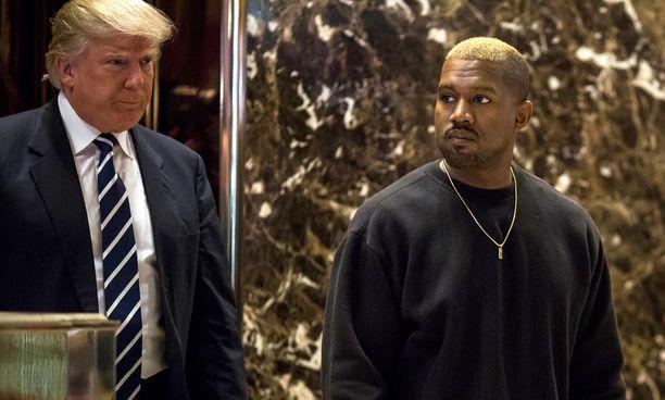 Kanye West on kertonut jo aiemmin äänestäneensä Trumpia.