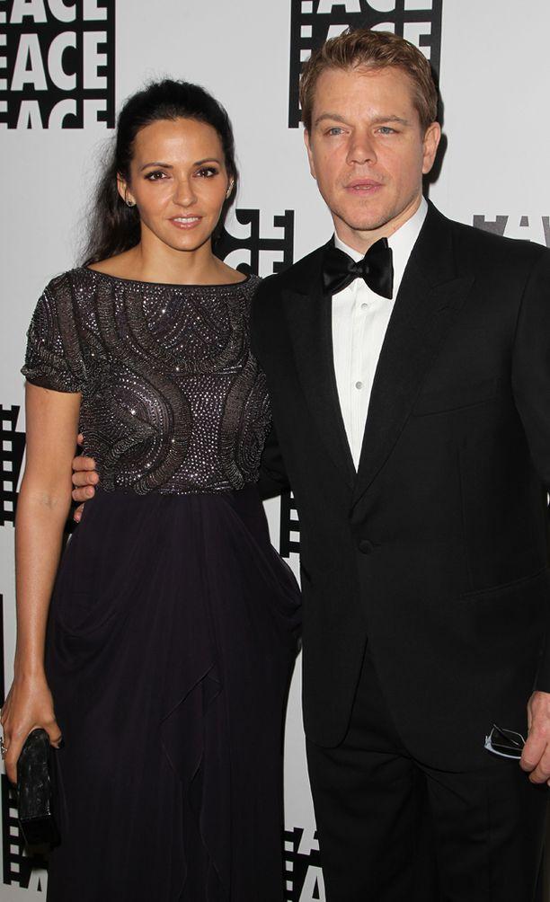 Matt Damon on ollut 10 vuotta naimisissa Luciana Barroson kanssa.