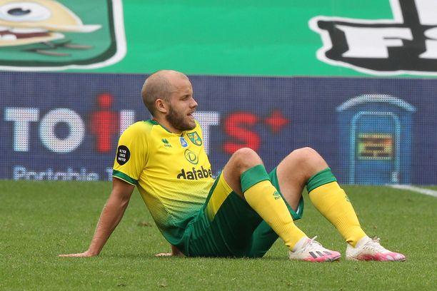 Teemu Pukin Norwich pelaa ensi kaudella Mestaruussarjassa.
