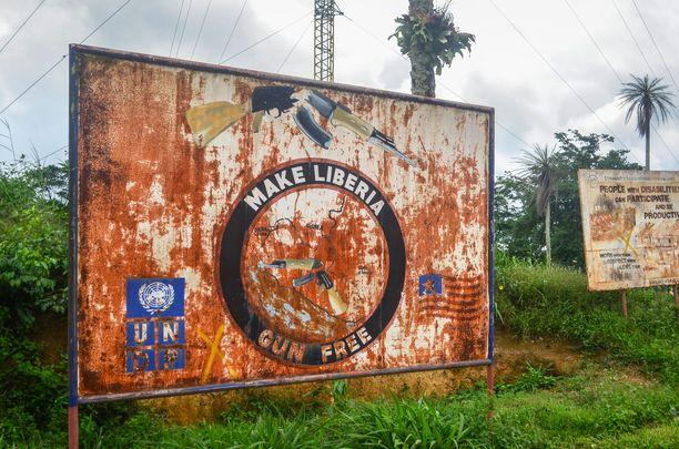 Liberian toisessa sisällissodassa kuoli satojatuhansia.