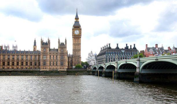 Lontoo nousi suosikkikohteiden kolmoseksi.