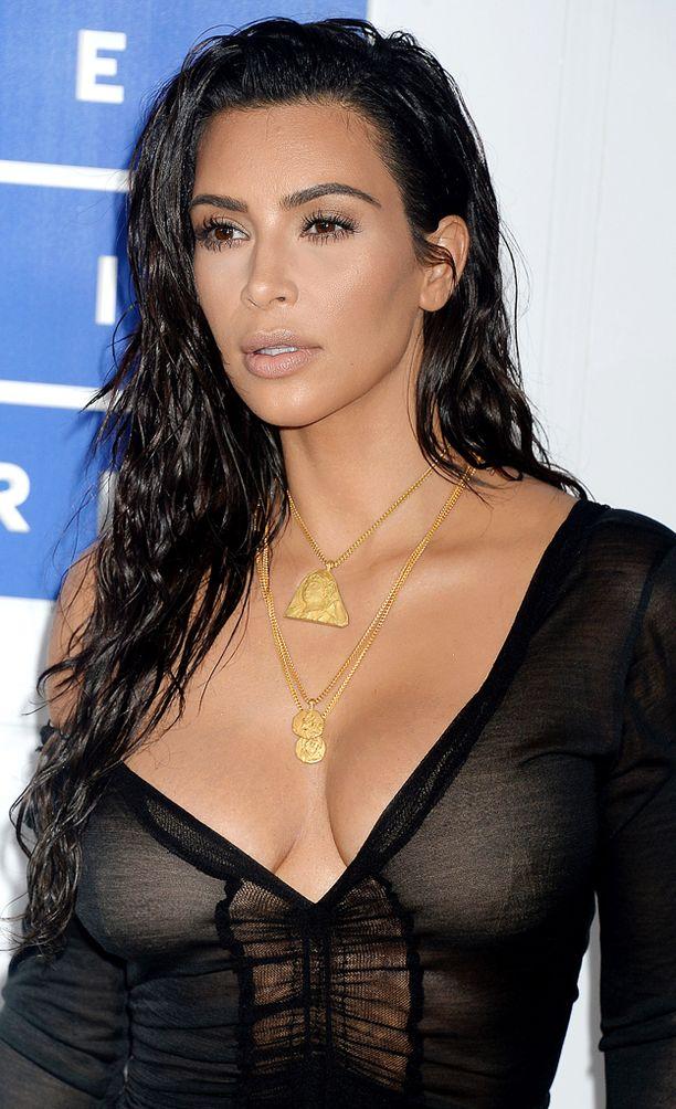 Kim Kardashian on laihtunut takaisin omiin mittoihinsa toisen raskautensa jälkeen.