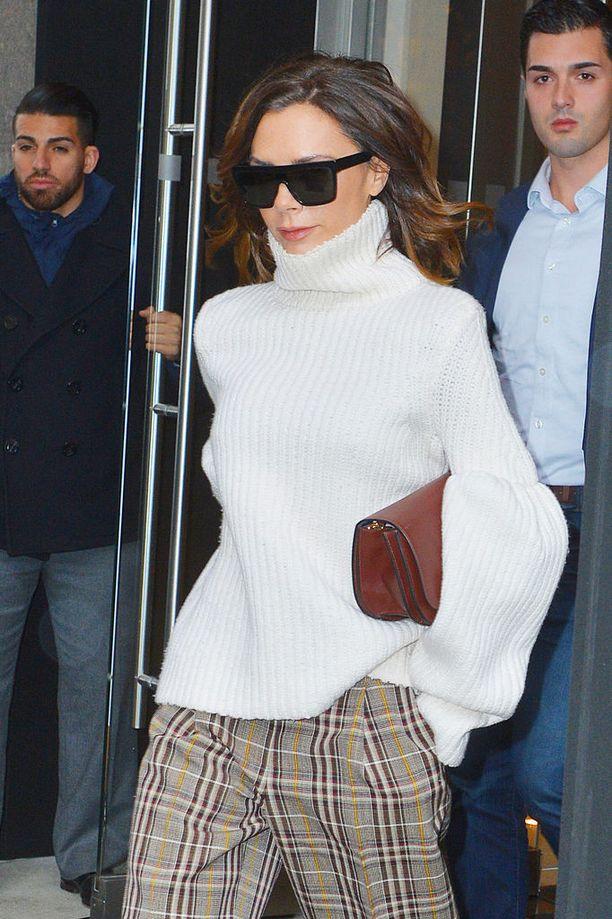 Posh Spice Victoria Beckham on työskennellyt muun muassa muotisuunnittelijana.
