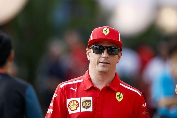 Kimi Räikkönen käväisi ajoreissulla Thaimaassa.
