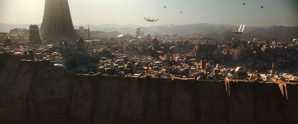 Uudessa elokuvassa nähdään jälleen eksoottisia planeettoja.