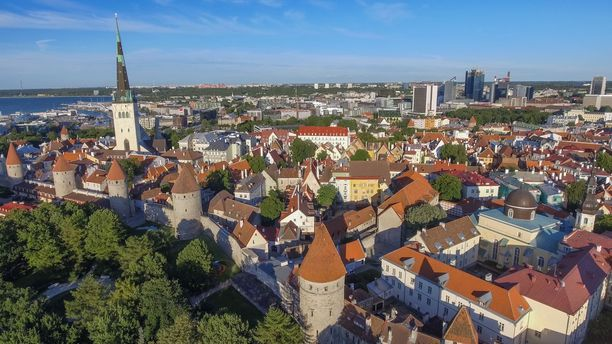 Tallinnan vanhakaupunki on Viron ylpeys.