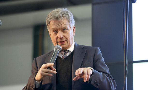 Sauli Niinistö jyrää vaaligallupeissa.