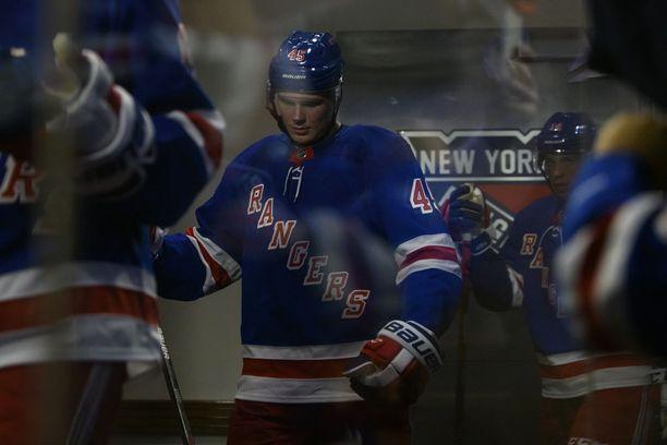 Kaapo Kakko pääsi ensimmäistä kertaa esittelemään taitojaan Madison Square Gardenin yleisölle.