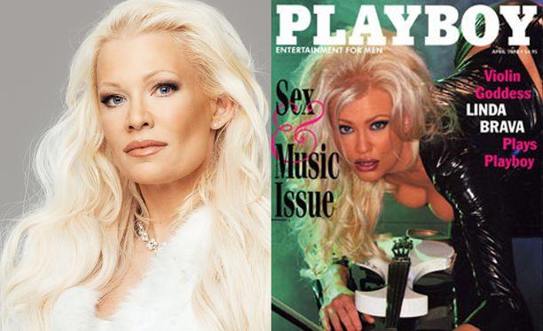 Linda Lampenius poseerasi vuonna 1998 Playboy-lehdelle, mutta joutui lopulta silloisen managerinsa huijaamaksi.
