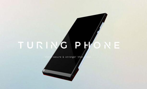 Turing Phonea markkinoidaan tietoturvalla ja äärimmäisellä kestävyydellä.