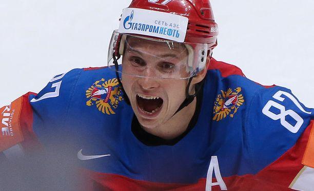 NHL pääsee todistamaan Vadim Shipatshjovin taidot.