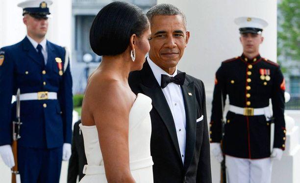 Michelle ja Barack Obama vihittiin vuonna 1992.