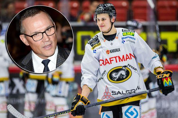 Steve Yzerman saapuu Karjala-turnaukseen. Jesse Puljujärvi on aloittanut kauden SM-liigassa hyvin.