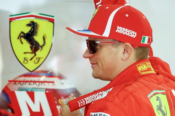 F1-sarjan ikänestori Kimi Räikkönen täyttää tasan vuoden päästä 40 vuotta.