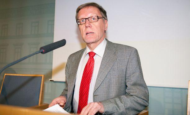 Jukka Pekkarinen jäi hiljattain eläkkeelle valtiovarainministeriön ylijohtajan virasta.
