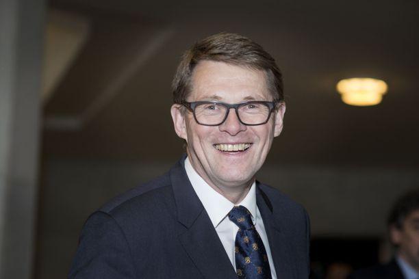 Matti Vanhanen on saanut hyviä uutisia. Arkistokuva vuodelta 2017.