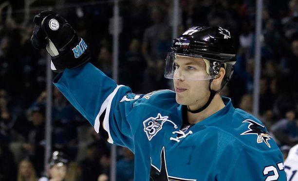 Joonas Donskoi vastasi yön NHL-kierroksen huikeimmasta esityöstä.
