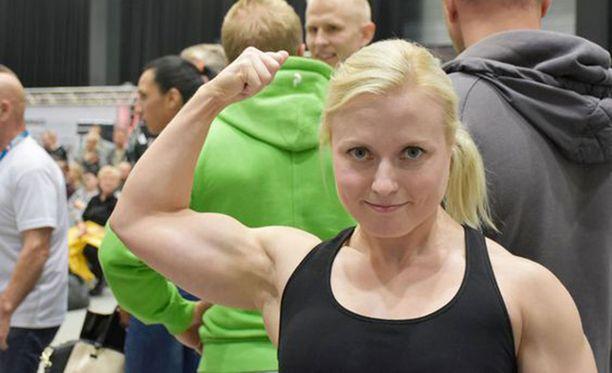 Hanna Rantala teki uuden Euroopan ennätyksen penkkipunnerruksessa.
