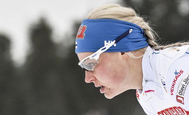 Anne Kyllönen ei mahtunut Suomen viestijoukkueeseen.