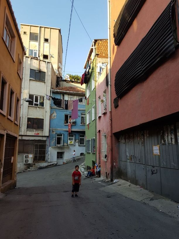 Tarlabasin alue on yksi Istanbulin köyhimmistä.