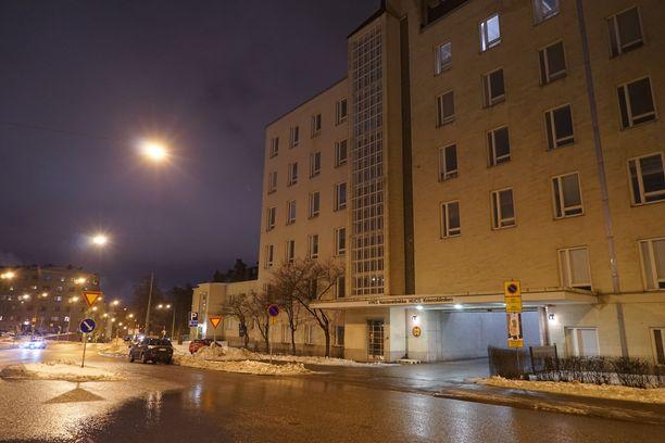 Helsingin Naistenklinikalla syntyi 22. joulukuuta vauva. Tosin taksiin sairaalarakennuksen pihalla.