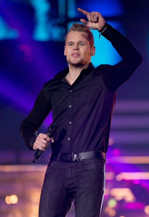 Jani Klemola lauloi yleisöäänillä tiensä finaaliin.