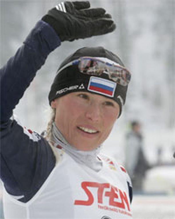 Julia Tshepalova: 3 olympiakultaa.