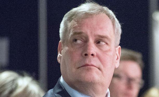 Antti Rinne oli keskiviikkona Ylen vaalitentissä.