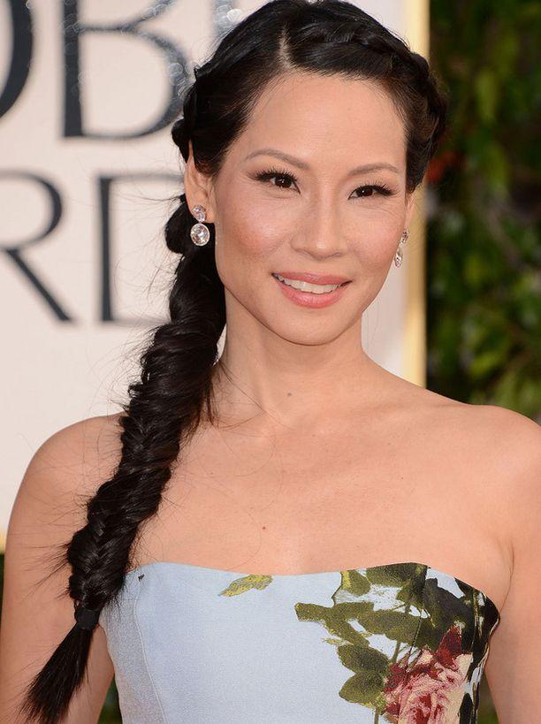 Lucy Liu ihastutti lettikampauksessa.