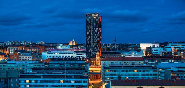 Tässä on Suomen korkein hotelli.