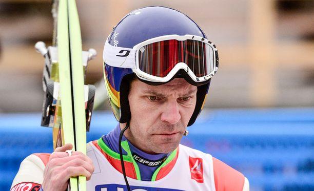 Janne Ahosen tekniikka on aiheuttanut keskustelua.